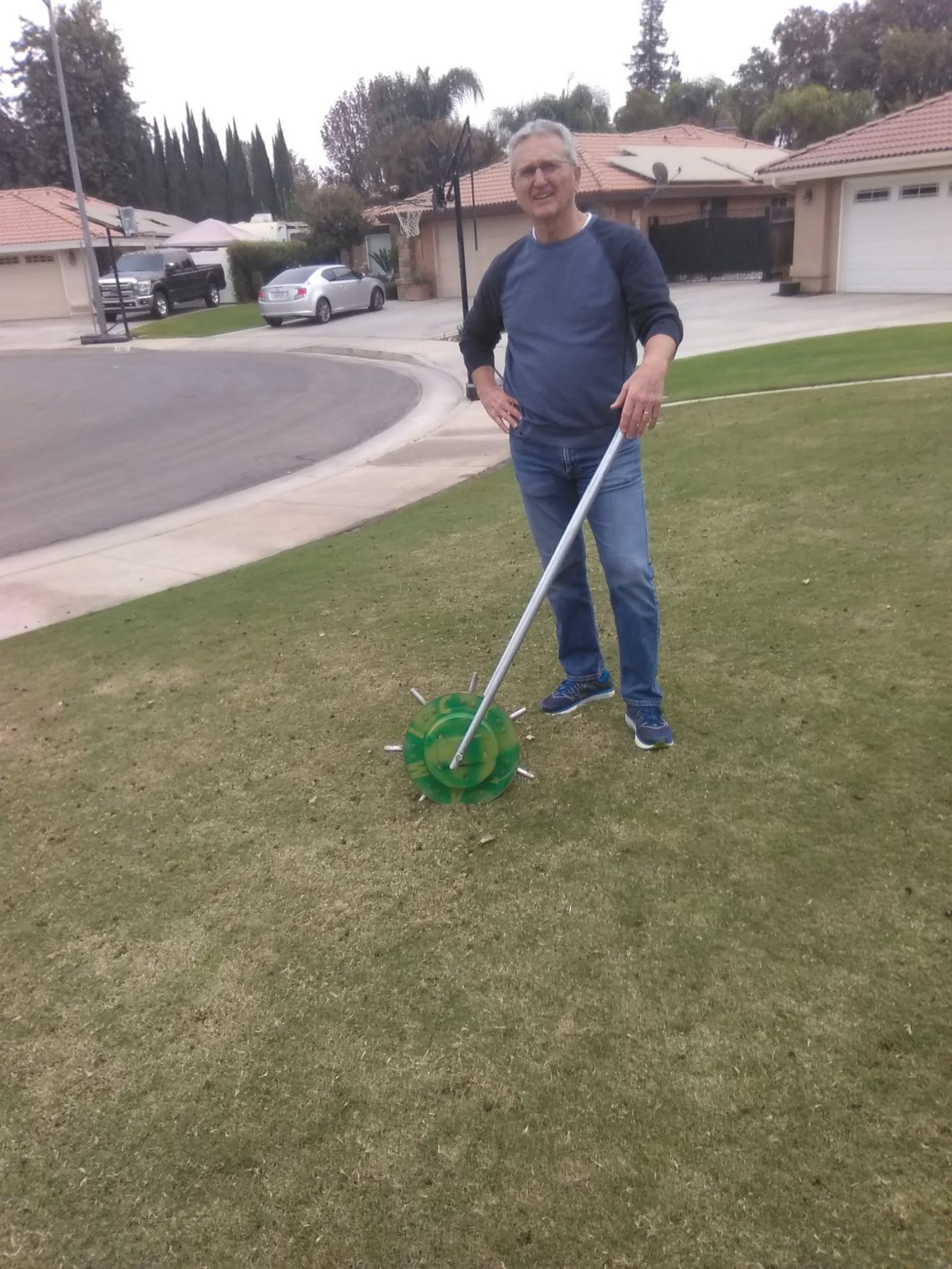 The #1 Lawn Aerator Tool, Lawn Aerator For Sale here, we sell the Best Lawn Aerator Tool, Amick Rollaerator!